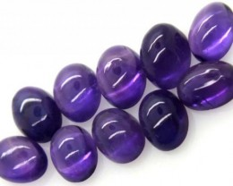 AMETHYST CABS (10 PC) 8.0 CTS CG-1355