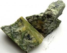GREEN SERAPHINITE 58 CTS ADG-271