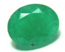 FACETED GREEN EMERALD  3.4CTS ADK-358