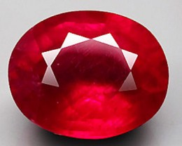 5.36 Carat Fiery VS2 Ruby - Beautiful Gem