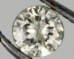 0.220 CTS AUSTRALIAN WHITE DIAMOND [DC280]