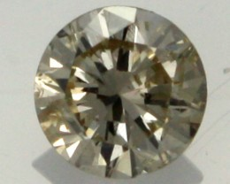 0.175 CTS AUSTRALIAN YELLOW DIAMOND  [DC291]