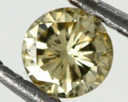 0.175 CTS AUSTRALIAN YELLOW DIAMOND  [DC294]