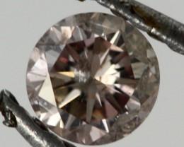 0.170 CTS AUSTRALIAN PINK DIAMOND[DC297]