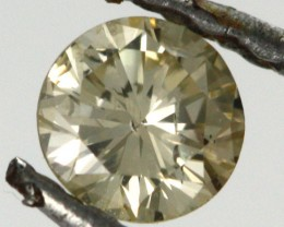 0.200 CTS AUSTRALIAN YELLOW DIAMOND [DC297A]