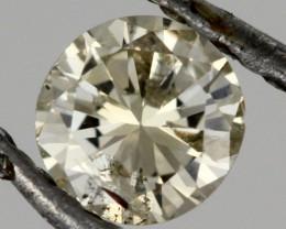 0.190 CTS AUSTRALIAN LIGHT YELLOW DIAMOND [DC299]
