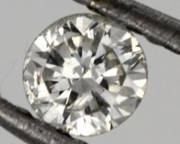 0.120 CTS AUSTRALIAN WHITE DIAMOND [DC313]