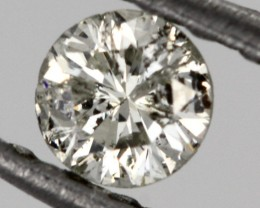 0.145 CTS AUSTRALIAN WHITE DIAMOND [DC315]
