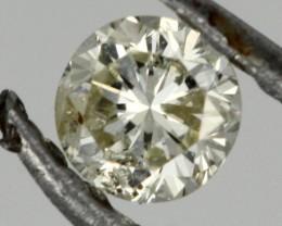 0.120 CTS AUSTRALIAN WHITE DIAMOND [DC324]