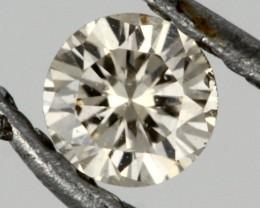 0.135 CTS AUSTRALIAN CHAMPAGNE DIAMOND [DC325]