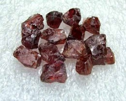 41.95cts Natural Garnet Gemstone Rough Parcel R45