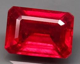 3.36 Carat VS Cherry Ruby - Fiery Beauty