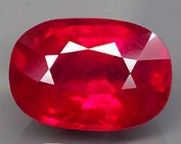 4.58 Carat Cherry Ruby - Gorgeous Gem