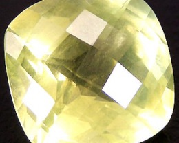 11.95 Carat Brazilian Milky Lemon Quartz - Lovely