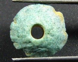 600 BCEgyptian Faience Artifact BEAD OP 1815