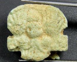 600 BC Egyptian Faience Artifact op 1820