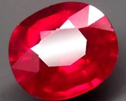 1.65 Carat Fiery Vs Beautiful Cherry Ruby
