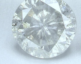 NATURAL WHITE DIAMONDS-0.10CTWSIZE-1PCS,NR