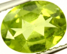 PERIDOT FACETED STONE 1.75 CTS PG-948