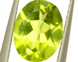PERIDOT FACETED STONE 1.75 CTS PG-942