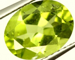 PERIDOT FACETED STONE 1.80 CTS PG-956