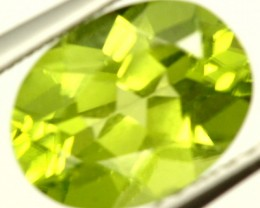 PERIDOT FACETED STONE 1.95 CTS PG-955