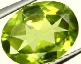 PERIDOT FACETED STONE 1.80 CTS PG-952
