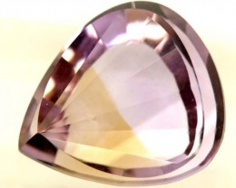 10.25 cts NATURAL AMETRINE  FACETED STONE  PG-1156