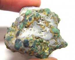 NATURAL GEM VARISCITE NEVADA 64CTS RG - 2471