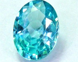 BLUE ZIRCON FACETED STONE 1.05 CTS  PG-1172
