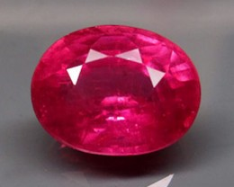 3.35 Carat VS Ruby - Lovely Pinkish Red