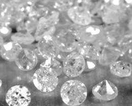 NAT- WHITE DIAMOND-1.2MMSIZE-1CTWLOT,LOWESTDEAL
