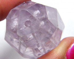 133.10 CTS  AMETHYST LARGE FACETED BEAD TBG-180
