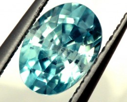 BLUE ZIRCON FACETED STONE 0.90 CTS  PG-1257