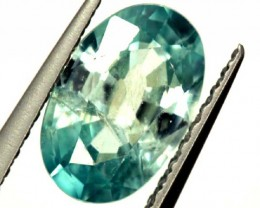 BLUE ZIRCON FACETED STONE 1.80 CTS  PG-1119