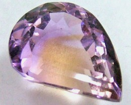 9.65 cts NATURAL AMETRINE FACETED STONE  PG-1151