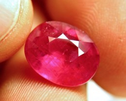 8.87 Carat Vs Ruby - Pinkish Red - Superb