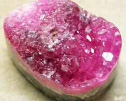 NATURAL PINK COBALT CALCITE-PRE SHAPED 13.00 CTS [MX8248]