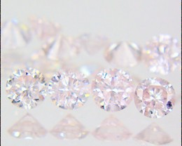 NAT-VERYRARE-ARGYLE -PINKDIAMOND1.5MM-11PCS