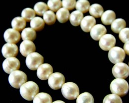 FRESH WATER PEARL STRAND-ROUNDS   9  MM  266.20 CTS [PF802]