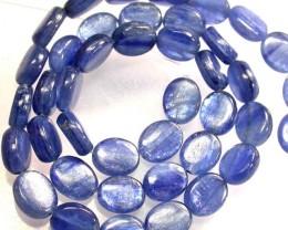 KYANITE STRAND-10X8 DEEP BLUE 158.20 CTS [MX8497]