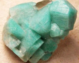 AMAZONITE CLUSTER-USA 52.90 CTS [MX8623]
