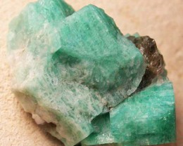 AMAZONITE CLUSTER-USA 46.50 CTS [MX8630]