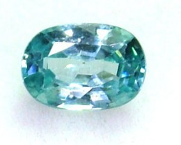 BLUE ZIRCON FACETED STONE 1.05 CTS  PG-1091