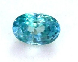 BLUE ZIRCON FACETED STONE 0.80 CTS PG-1104