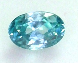 BLUE ZIRCON FACETED STONE 1.20 CTS  PG-1109
