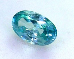 BLUE ZIRCON FACETED STONE 1.20 CTS  PG-1122