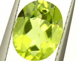 PERIDOT FACETED STONE 1.85 CTS PG-1121