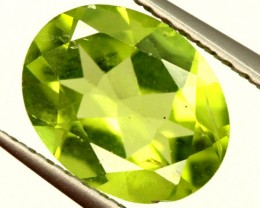 PERIDOT FACETED STONE 1.70 CTS PG-967