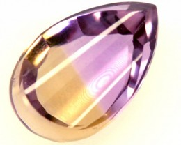 5.90 cts NATURAL AMETRINE  FACETED STONE  PG-1414